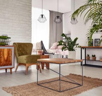 Pomysły na ścianę z cegły – aranżacje i inspiracje do salonu