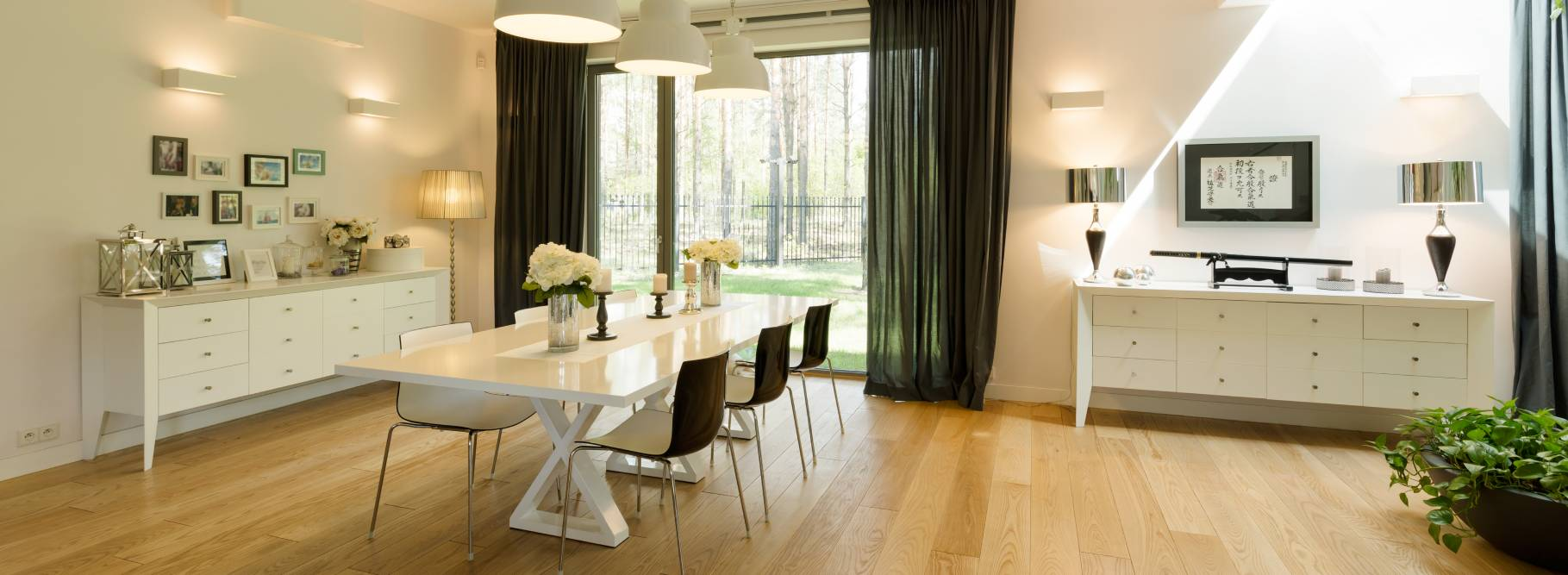 Uporządkowane wnętrze w stylu skandynawskim
