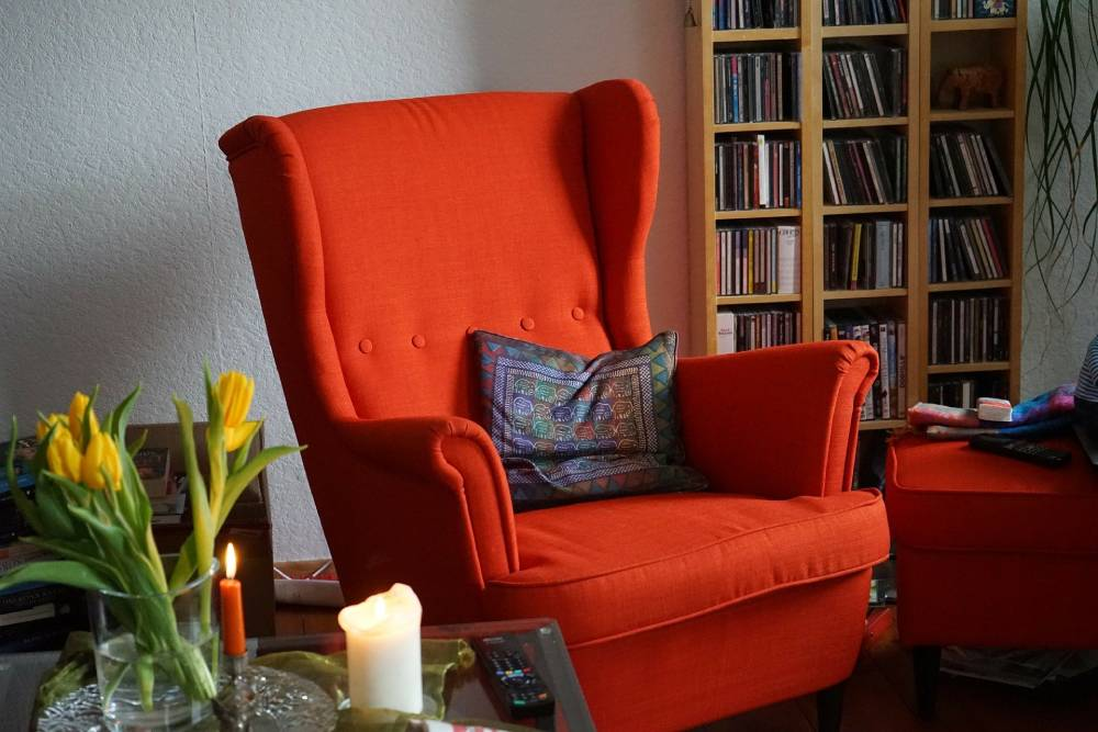 Fotel uszak do czytania