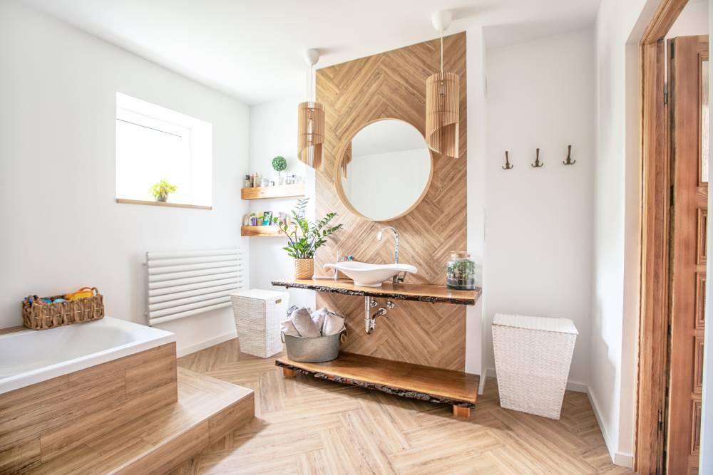 Łazienka w stylu boho