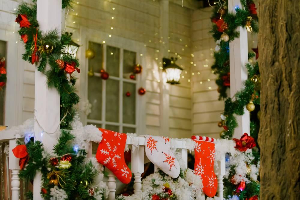 Girlanda i świąteczne ozdoby